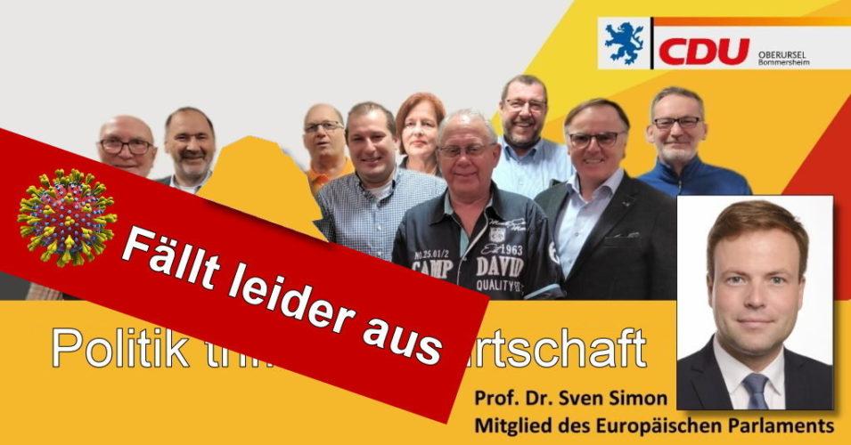 """ABSAGE der Podiumsdiskussion """"Politik trifft Landwirtschaft"""" 12.03.2020"""