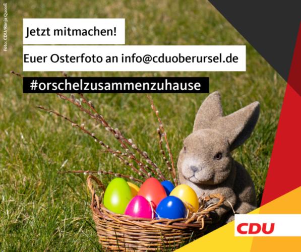 OsterAktion der CDU Oberursel