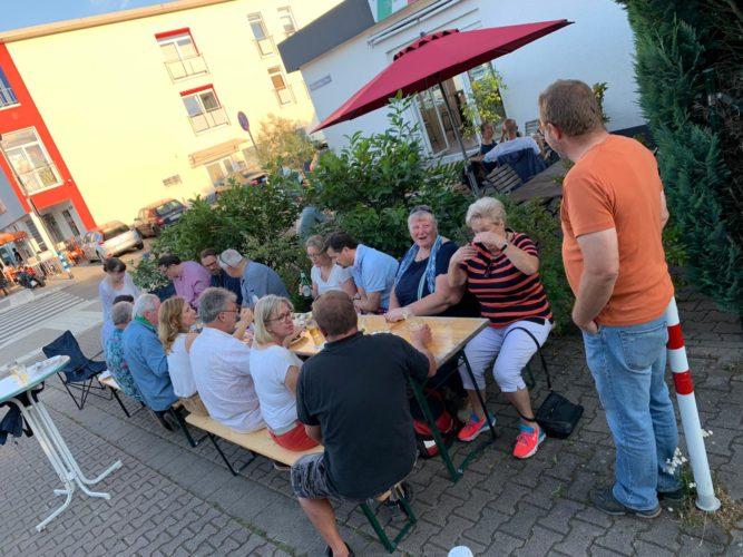 Zu Gast bei Freunden in Oberstedten